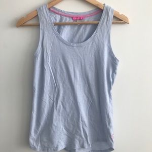 ✨3/$25✨ JOULES tank top pale blue Small EUC